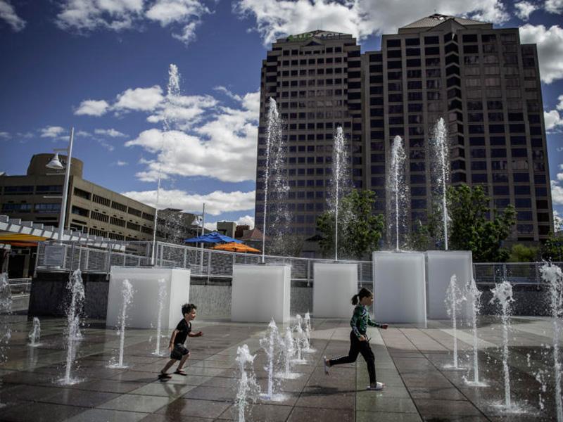 Civic Plaza Albuquerque
