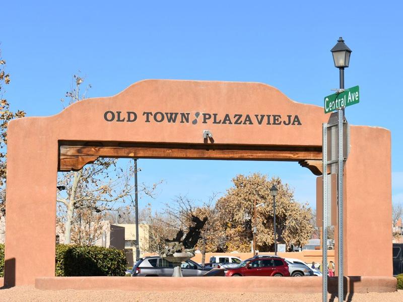 Old Town Plaza Albuquerque